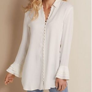 Soft Surroundings | Poet Blouse